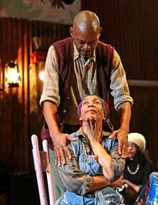 Jonathan Peck and Thuli Dumakude in 'generations' (Photo credit: Julieta Cervantes)