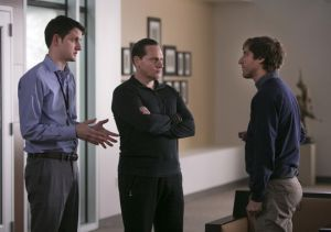 Zach Woods, Christopher Evan Welch, and Thomas Middleditch in 'Silicon Valley'