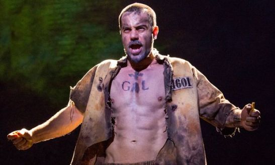 Ramin Karimloo in 'Les Miserables' (Photo credit: Matthew Murphy)