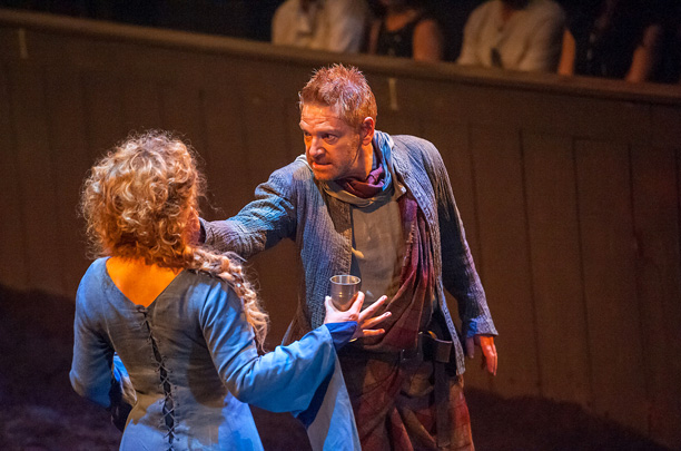 Alex Kingston and Kenneth Branagh in 'Hamlet' (Image credit: Stephanie Berger)