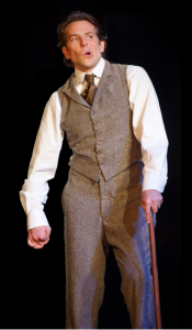Bradley Cooper in 'The Elephant Man (Photo credit: Joan Marcus)