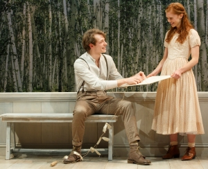 Mike Faist and Megan West in 'A Month in the Country' (Photo: Joan Marcus)