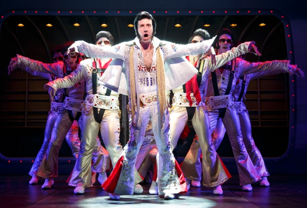 David Josefsberg & Co. in 'Honeymoon in Vegas' (Photo: Joan Marcus)