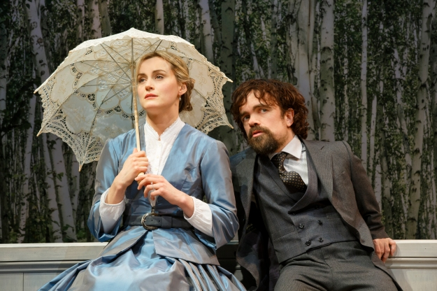 Taylor Schilling and Peter Dinklage in 'A Month in the Country' (Photo: Joan Marcus)