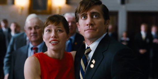 Jessica Biel and Jake Gyllenhaal in the long-on-the-shelf movie now called 'Accidental Love'