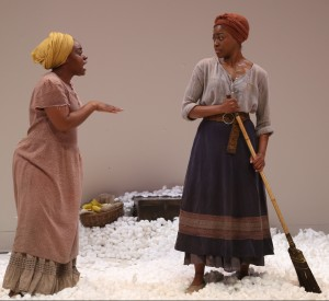Maechi Aharanwa and Pascale Armand in 'An Octoroon' (Photo: Gerry Goodstein)