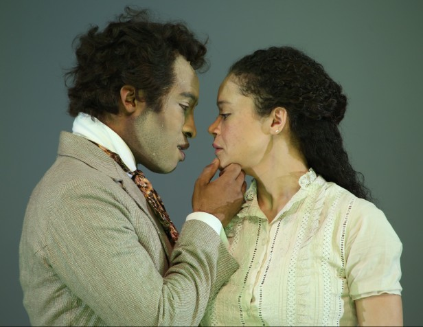 An Octoroon pictured l to r are Austin Smith & Amber Gray  Please Credit Gerry Goodstein  IMG_0356