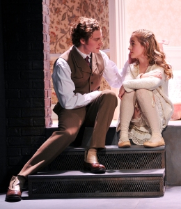 Ben Rosenfield and Sophia Anne Caruso in 'The Nether' (Photo: Jenny Anderson)