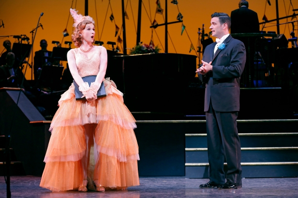 Erin Mackey and Colin Donnell in 'Lady, Be Good!' (Photo: Carol Rosegg)