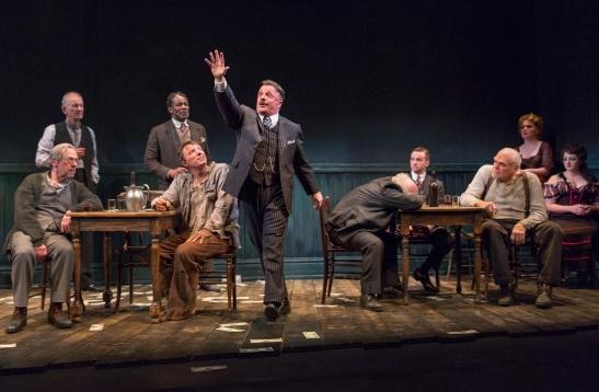 Nathan Lane (center) in 'The Iceman Cometh' (Photo: Richard Termine)