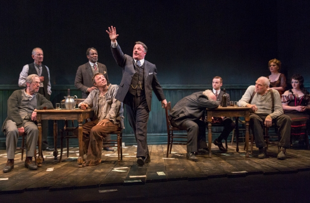 Nathan Lane (center) in 'The Iceman Cometh' (Photo: Richard Termine)