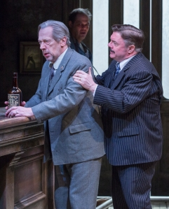 Stephen Ouimette and Nathan Lane in 'The Iceman Cometh' (Photo: Richard Termine)