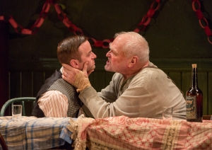 Patrick Andrews and Brian Dennehy in 'The Iceman Cometh' (Photo: Richard Termine)