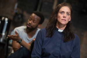 McIntosh and Samuel in 'The Events' (Photo: Matthew Murphy)