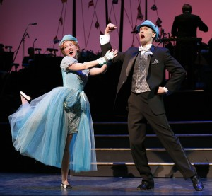 Patti Murin and Danny Gardner in 'Lady, Be Good!' (Photo: Carol Rosegg)