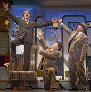 Gallagher, Michael McGrath, and Mark Linn-Baker in 'On the Twentieth Century' (Photo: Joan Marcus)