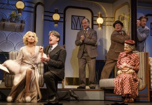 Kristin Chenoweth, Peter Gallagher, Mark Linn-Baker, Michael McGrath, Mary Louise Wilson, and Andy Karl in 'On the Twentieth Century' (Photo: Joan Marcus)