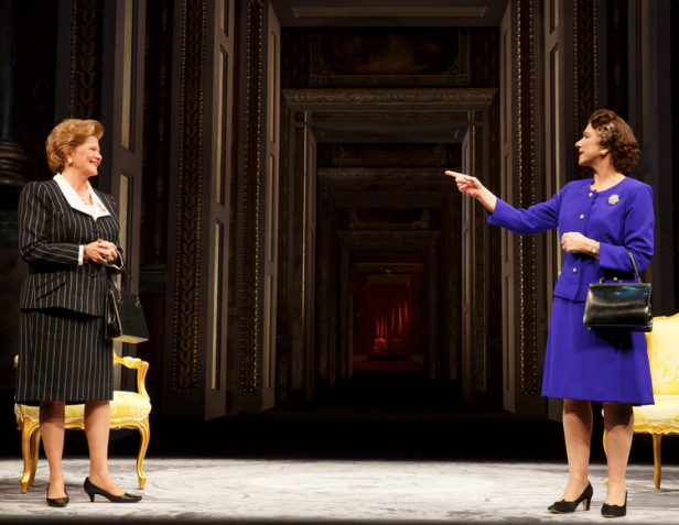 Judith Ivey and Mirren in 'The Audience' (Photo: Joan Marcus)
