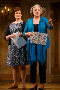 Lisa Howard and Tyne Daly in 'It Shoulda Been You' (Photo: Joan Marcus)