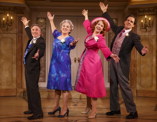 Chip Zien, Daly, Harriet Harris, and Michael X. Martin in 'It Shoulda Been You' (Photo: Joan Marcus)