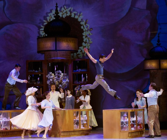 Fairchild takes the leap in 'An American in Paris' (Photo: Angela Sterling)