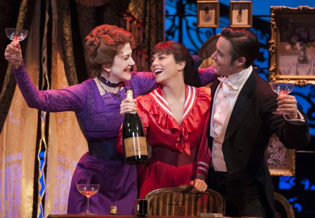 Victoria Clark, Vanessa Hudgens, and Corey Cott in 'Gigi' (Photo: Joan Marcus)