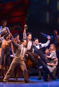 Fairchild, Brandon Uranowitz, and Max von Essen in 'An American in Paris' (Photo: Matthew Murphy)