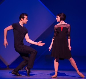Fairchild and Cope in 'An American in Paris' (Photo: Matthew Murphy)