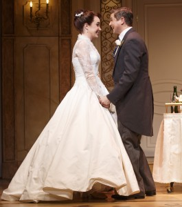Sierra Boggess and David Burka in 'It Shoulda Been You' (Photo: Joan Marcus)