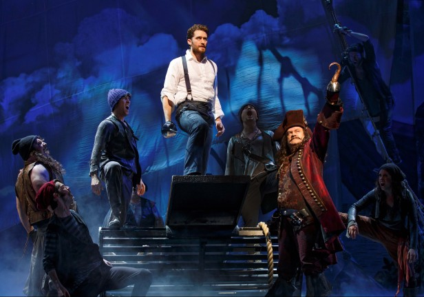Matthew Morrison and Kelsey Grammer in 'Finding Neverland' (Photo: Carol Rosegg)