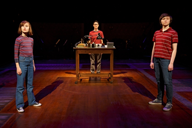 Sydney Lucas, Beth Malone, and Emily Skeggs in 'Fun Home' (Photo: Joan Marcus)