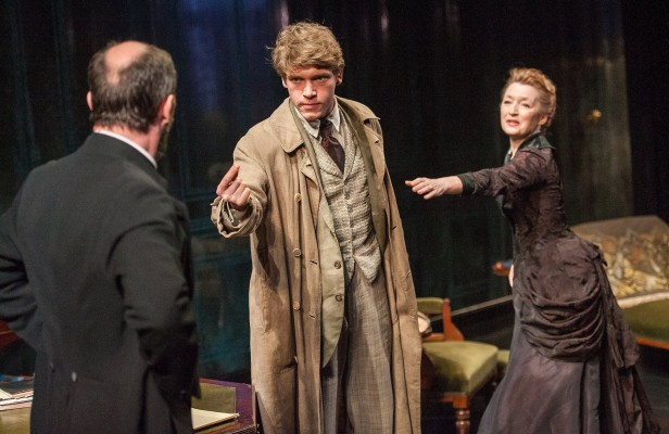 Keen, Howle, and Manville in 'Ghosts' (Photo: Stephanie Berger)
