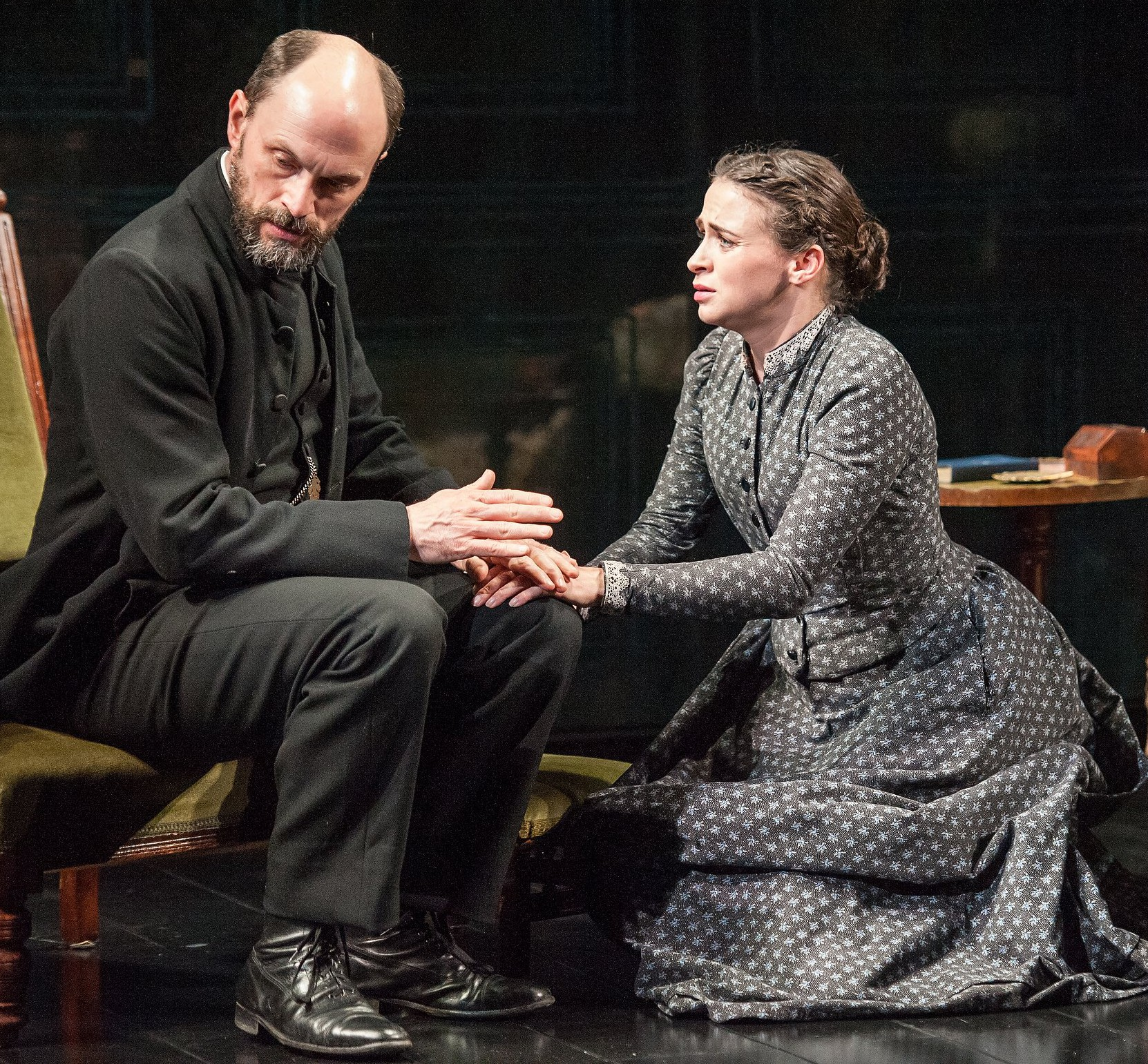 ghosts henrik ibsen Ghosts, by henrik ibsen, takes place in the home of the wealthy widow, mrs alving regina engstrand, the young servant of mrs alving, is attending to her duties when she reluctantly accepts a visit from her wayward father, jakob engstrand.