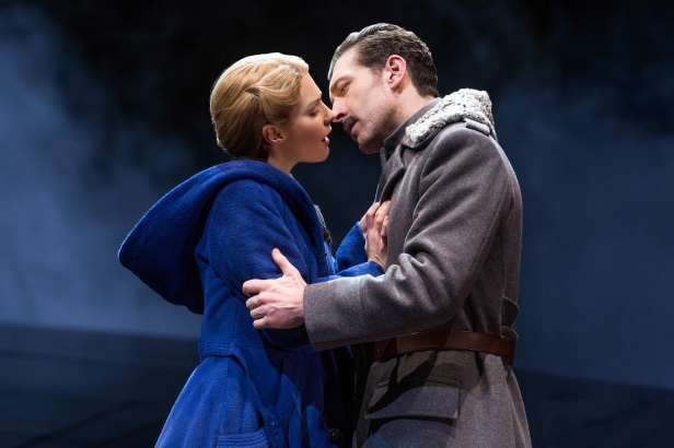 Kelli Barrett and Tam Mutu in 'Doctor Zhivago' (Photo: Matthew Murphy)