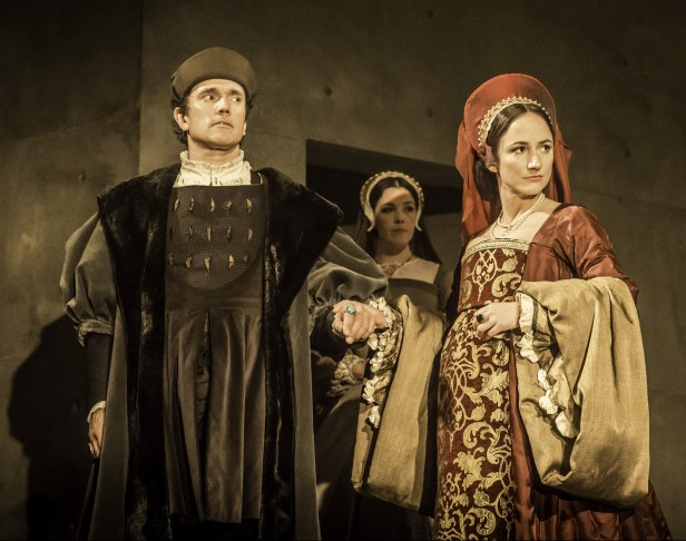 Ben Miles and Lydia Leonard in 'Wolf Hall' (Photo: Johan Persson)
