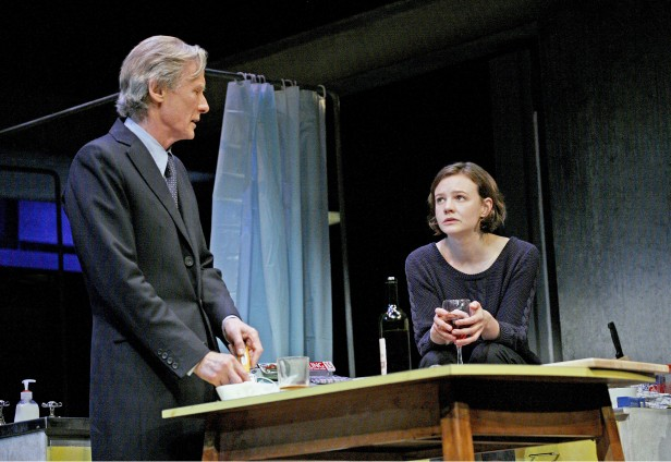 Nighy and Mulligan in 'Skylight' (Photo: John Haynes)