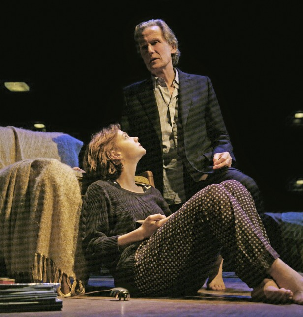 Carey Mulligan and Bill Nighy in 'Skylight' (Photo: John Haynes)