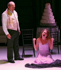 Harris Yulin and Lisa Joyce in 'Hamlet' (Photo: Carol Rosegg)