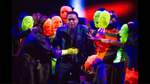 Chiwetel Ejiofor in 'Everyman' (Photo: Richard Hubert Smith)