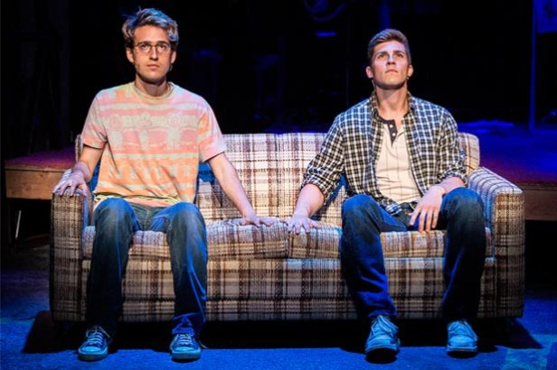 Ryder Bach and Curt Hansen in 'Girlfriend' (Photo: Craig Schwartz)