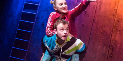 Evanna Lynch and Colin Campbell in 'Disco Pigs'