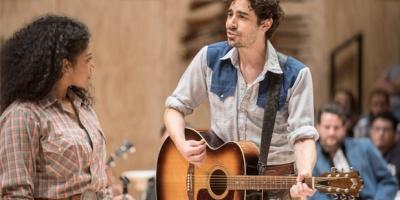 "Rebecca Naomi Jones and Damon Daunno in ""Oklahoma!"""